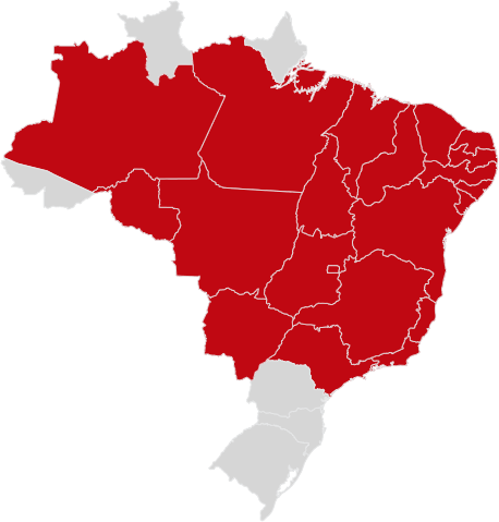 mapa localização NLT Transportes